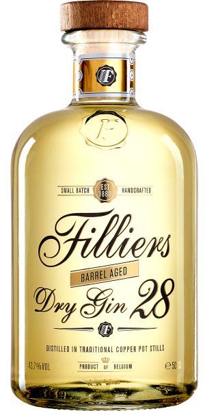 GIN FILLIERS DRY GIN 28 BARREL AGED