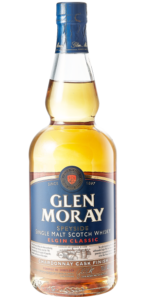 WHISKY GLEN MORAY CHARDONNAY CASK SINGLE MALT | AC