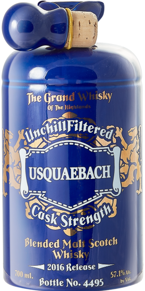 WHISKY USQUAEBACH CASK STRENGTH BLEND | EB