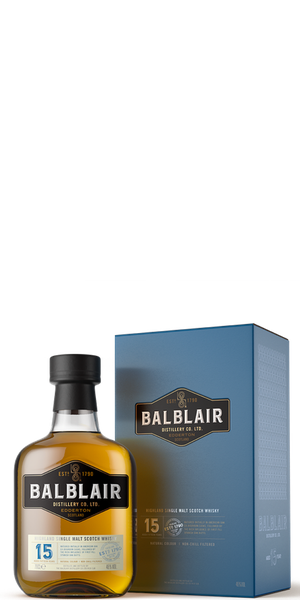 WHISKY BALBLAIR 15YO SINGLE MALT | ACD