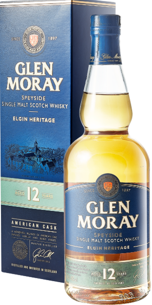 WHISKY GLEN MORAY 12 YO SINGLE MALT | AC
