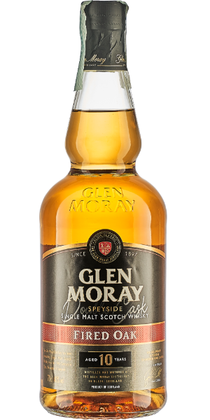 WHISKY GLEN MORAY 10 YO DOUBLE CASK FIRED OAK SINGLE MALT | AC